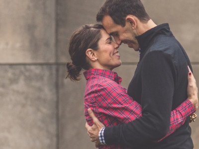 Emily + Michael's Engagement Session by Robin Dini
